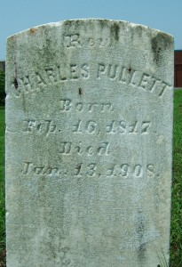 Rev. Charles Pullet, Houston Cemetery, Salisbury, Md, son of Rev Frost Pollitt