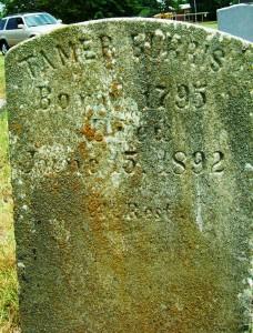 Tamer Burris 1795 - 1892