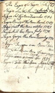 Thomas Pollitt Bible 1767 New Testament frontpage